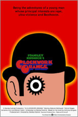 Foam board print  Clockwork Orange - Entertainment Collection