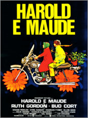 Aluminium print  Harold and Maude (Italian) - Entertainment Collection