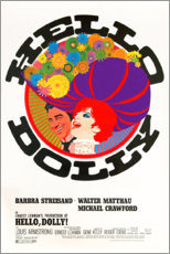 Wood print  Hello, Dolly! - Entertainment Collection