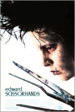 Wall sticker  Edward Scissorhands (English) - Entertainment Collection