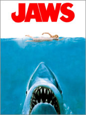 Foam board print  Jaws - Entertainment Collection