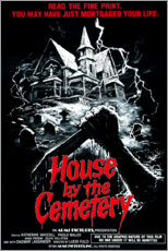 Aluminium print  The House by the Cemetery - Entertainment Collection