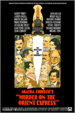 Wood print  Murder on the Orient Express - Entertainment Collection