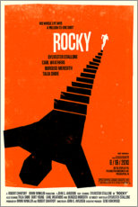 Aluminium print  Rocky - Entertainment Collection