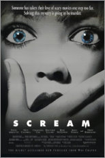 Aluminium print  Scream - Entertainment Collection