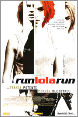 Acrylic print  Run, Lola, run - Entertainment Collection