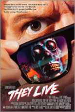 Aluminium print  They Live - Entertainment Collection