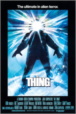 Wood print  The Thing - Entertainment Collection