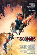 Wood print  The Goonies - Entertainment Collection