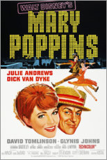 Wood print  Mary Poppins - Entertainment Collection