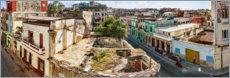 Canvas print  District of Havana