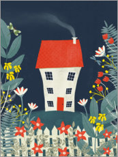 Gallery print  House in nature - Mel Armstrong