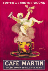 Canvas print  Cafe Martin - Leonetto Cappiello