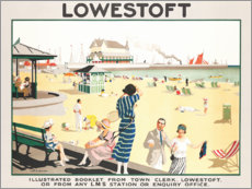 Premium poster Lowestoft