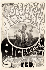 Gallery print  Jefferson Airplane 1966 - Entertainment Collection
