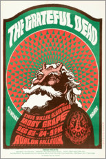 Premium poster  Grateful Dead Concert 1966 - Entertainment Collection