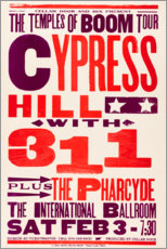 Canvas print  Cypress Hill, With 311, Concert 1996 - Entertainment Collection
