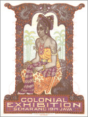 Acrylic print  Colonial Exhibition 1914 - Advertising Collection