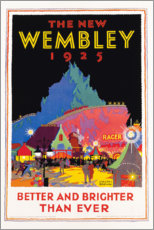 Premium poster  The new Wembley 1925 - Gregory Brown
