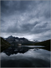 Acrylic print  Schwarzsee in Valais, Switzerland - Peter Wey