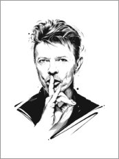 Canvas print  David Bowie - Tompico
