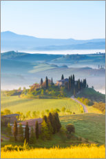 Canvas print  Spring in Tuscany