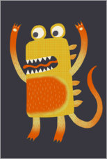 Wall sticker  Monster Stanley - Nic Squirrell