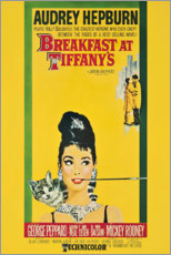Aluminium print  Breakfast at Tiffany's - Entertainment Collection
