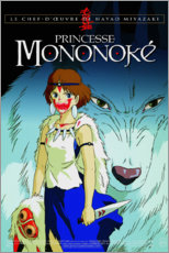 Wall sticker  Princess Mononoke (French) - Entertainment Collection