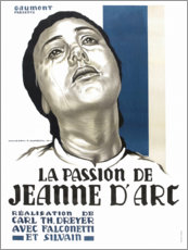 Aluminium print  The Passion of Joan of Arc - Entertainment Collection