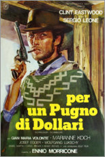 Canvas print  A fistfull of Dollars - Entertainment Collection