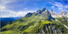 Acrylic print  Big bishop's cap in the Dachstein mountains - Dieter Meyrl