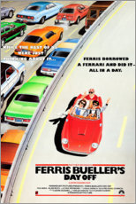 Canvas print  Ferris Bueller's Day Off - Entertainment Collection
