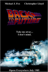 Canvas print  Back to the future - Entertainment Collection