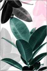 Gallery print  Rubber tree collage - Sisi And Seb