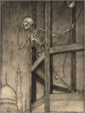 Canvas print  Death in a Bell Tower - Edmund Joseph Sullivan