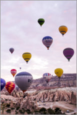 Wall sticker  Balloons flying at Cappadocia - Fabio Sola