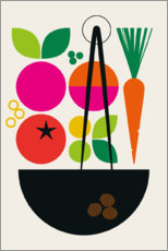 Gallery print  Cooking - Bo Lundberg