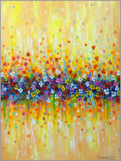 Premium poster  Delicate abstraction - Olha Darchuk