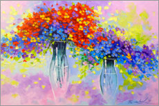 Gallery print  Symphony of flowers - Olha Darchuk