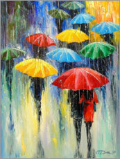 Aluminium print  Colourful, rainy days - Olha Darchuk