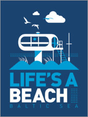 Wall sticker  Life's a Beach - Baltic Sea - Dieter Braun