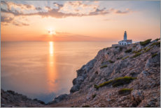 Wall sticker  Sunrise at the lighthouse in Cala Ratjada - Igor Kondler