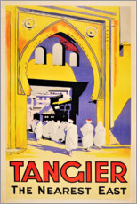Canvas print  Tangier, the nearest east - Travel Collection