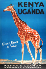 Premium poster  Kenya and Uganda - Travel Collection