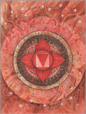 Premium poster  Root chakra - Maria Forrester
