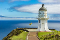 Canvas print  Meeting point of two oceans, Cape Reinga - Thomas Hagenau