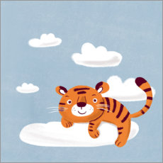Premium poster  Dream tiger - Julia Reyelt