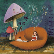 Canvas print  Bedtime story - Mila Marquis