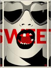 Premium poster  Sweet - dolceQ